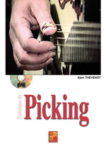 Techniques du picking à la guitare
