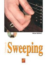 Techniques du sweeping à la guitare